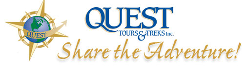 Quest Tours and Trek Inc. Website