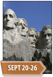 Extended Journey: Mt. Rushmore and The Badlands, September 20-26, 2015